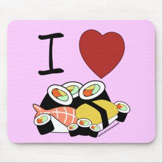 Herz I Sushi Mousepad