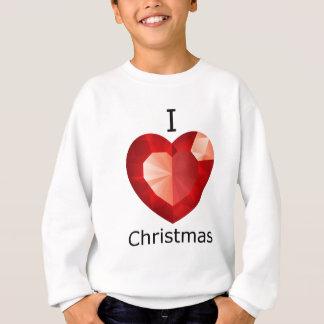 Herz I Weihnachten Sweatshirt