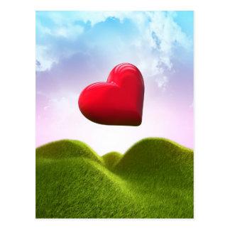 Herz im Himmel Postkarten