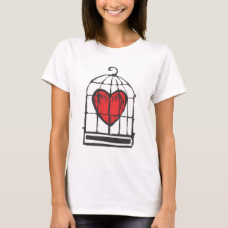 Herz im Käfig T-Shirt