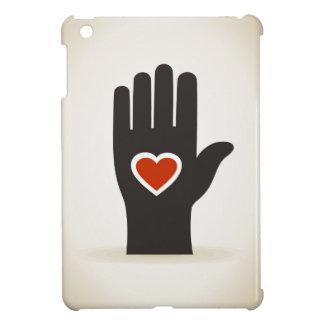 Herz in einer Hand iPad Mini Schale