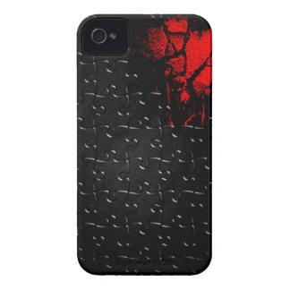 Herz in verlorenem Puzzlespiel iPhone 4 Hüllen