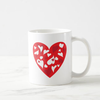 Herz Kaffeetasse