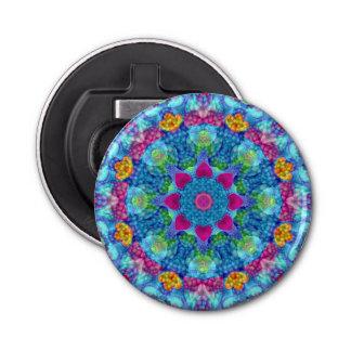 Herz-Kaleidoskop-magnetische Flaschen-Öffner Flaschenöffner