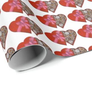 Herz-Kasten Valentinsgruß-Geschenk-der Verpackung Geschenkpapier