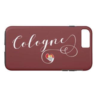 Herz-Köln-Handy-Fall, Köln iPhone 8 Plus/7 Plus Hülle