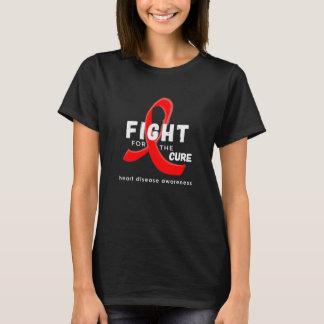 Herz-Krankheits-Bewusstseins-Kampf für das T-Shirt