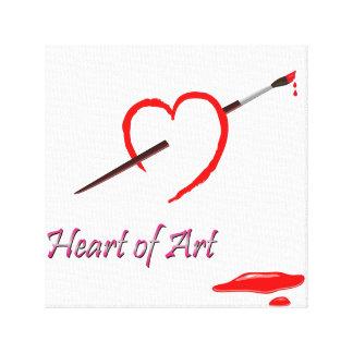 Herz-Kunst-Leinwand Leinwanddruck