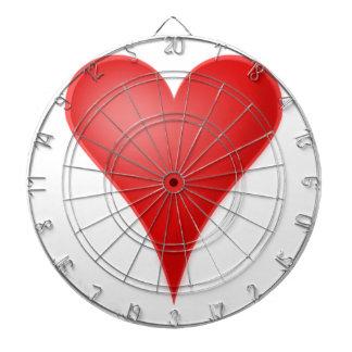 Herz-Liebe cool Dartscheibe