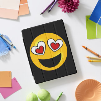 Herz-Liebe Emoji iPad Smart Cover
