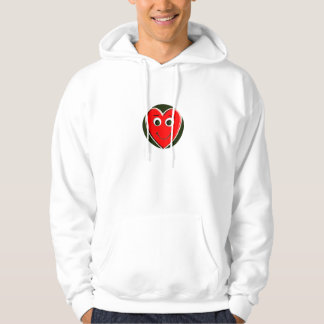 HERZ-LIEBE-TYP-SMILEY HOODIE