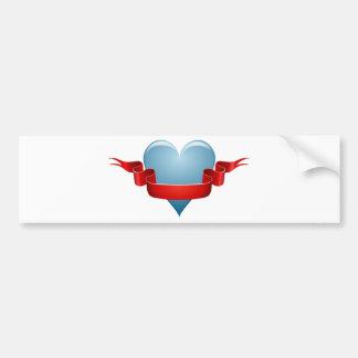 Herz-Liebebild Autoaufkleber