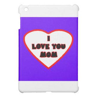Herz lila blaues Transp füllte das MUSEUM Zazzle iPad Mini Hülle