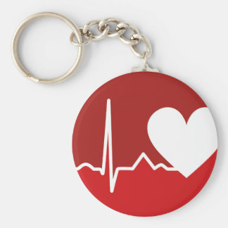 Herz-Logo Schlüsselanhänger