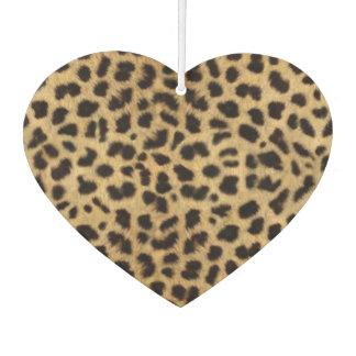 Herz-Lufterfrischer/Leopard Autolufterfrischer