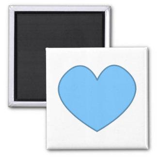 Herz-Magnet 0002 Quadratischer Magnet
