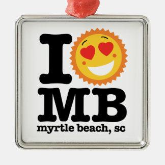(Herz) MB I Silbernes Ornament