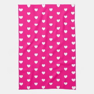 Herz-Muster Handtuch