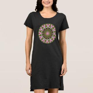 Herz-Natur, Blume-Mandala D.1 Kleid