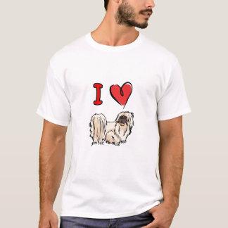 Herz pekingese T-Shirt