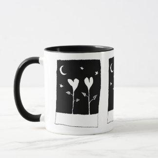 Herz-Pflanzen Tasse