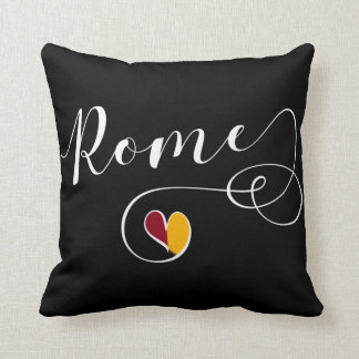 Herz-Rom-Kissen, Italien, italienisch Kissen