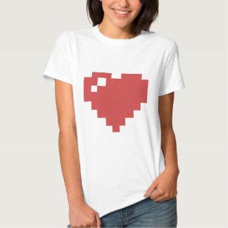 Herz-Shirt W 8bit Hemden