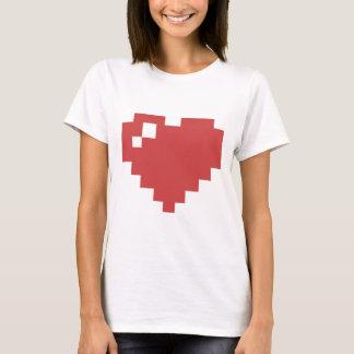 Herz-Shirt W 8bit T-Shirt