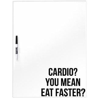 Herz? Sie gemein essen schneller? - Lustige Memoboard