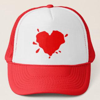Herz Spalt (Liebe ist unordentlich) Truckerkappe
