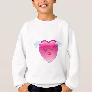 Herz-Spritzen Sweatshirt