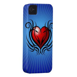 Herz-Tätowierung iPhone 4 Fall iPhone 4 Cover