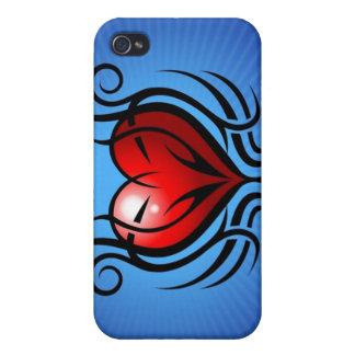 Herz-Tätowierung iPhone 4 Speck-Kasten iPhone 4 Hülle