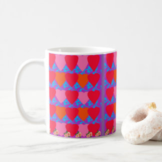 Herz-Themenorientierte Kaffee-Tasse Kaffeetasse