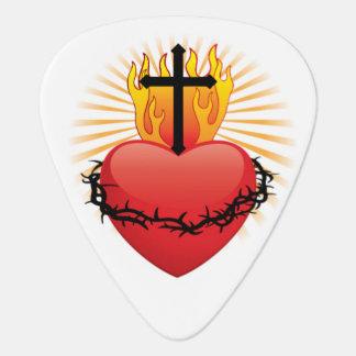Herz-u. Kreuz-christlicher PlektrumPlectrum Plektrum