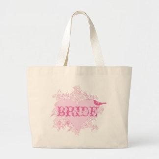 Herz-u. Vogel-Braut-Tasche