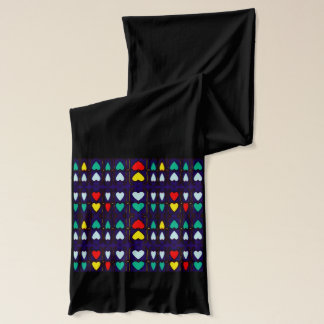 Herz-Umarmungen Schal