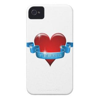 Herz und Band mischen Liebe wieder iPhone 4 Cover