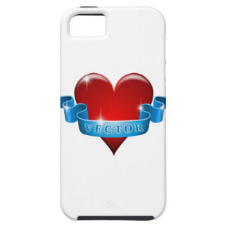 Herz und Band mischen Liebe wieder iPhone 5 Etuis