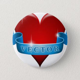 Herz und Band mischen Liebe wieder Runder Button 5,1 Cm