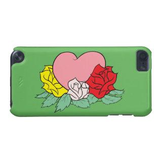 Herz und Rosen iPod Touch 5G Hülle