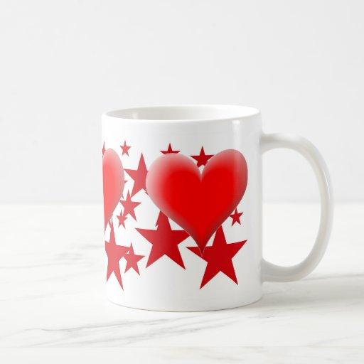 Herz-und Stern-Tasse