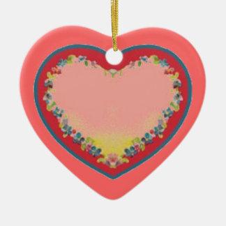 Herz-Verzierung Keramik Herz-Ornament
