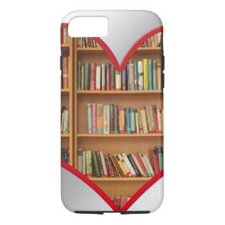 Herz voll der Bücher iPhone 8/7 Hülle
