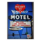 Herz von Chicago-Motel Karte