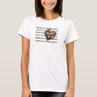 Herz von einem Choco-holic T-Shirt
