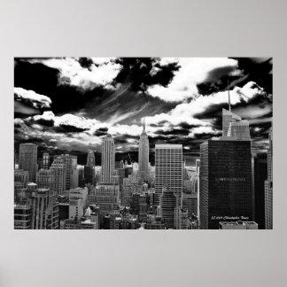 Herz von Manhattan - 30 Rockefeller-Piazza Poster