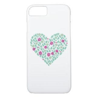 Herz - weißer iPhone 7 Kasten iPhone 8/7 Hülle