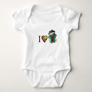 Herz-Zombies I <3 sind überall! Baby Strampler