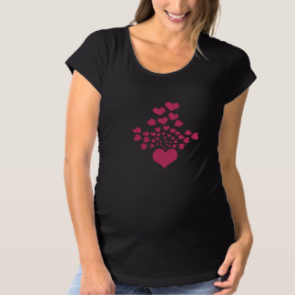 Herzbild Schwangerschafts T-Shirt